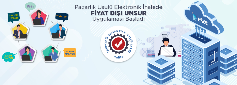 EKAP - Pazarlık Usulü Elektronik İhalede Fiyat Dışı Unsur Uygulaması Devreye Alındı